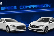 2020 Honda Civic RS Turbo vs Mazda3 Comparison: Spec Sheet Battle