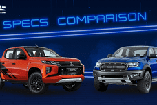 2020 Mitsubishi Strada Athlete vs Ford Ranger Raptor Comparison: Spec Sheet Battle