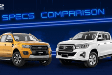 2020 Ford Ranger vs Toyota Hilux Comparison: Spec Sheet Battle