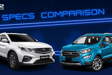 2020 Geely Coolray vs Ford EcoSport Comparison: Spec Sheet Battle