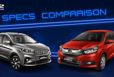 2020 Suzuki Ertiga vs Honda Mobilio Comparison: Spec Sheet Battle
