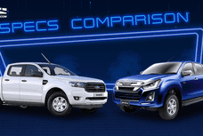 2020 Ford Ranger vs Isuzu D-Max Base Variant Specs Comparison