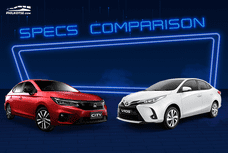 2020 Toyota Vios G vs Honda City RS Turbo: Specsheet comparison