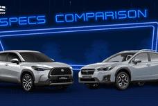 2021 Toyota Corolla Cross Hybrid vs Subaru XV: Spec Sheet Battle