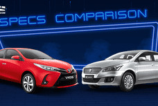 2021 Toyota Vios XLE MT vs Suzuki Ciaz GL MT: Spec Sheet Battle