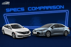 2020 Toyota Corolla Altis vs Honda Civic Comparison: Spec Sheet Battle