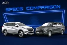 Sib Duel: Toyota Rush vs Innova MPV Specs Comparison