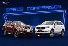2020 Nissan Terra vs Ford Everest Comparison: Spec Sheet Battle