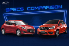 2020 Suzuki Swift vs Honda Brio Comparison: Spec Sheet Battle