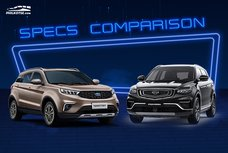 2020 Geely Azkarra vs Ford Territory Comparison: Spec Sheet Battle