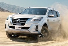 Facelifted Nissan Terra coming to Southeast Asia in August