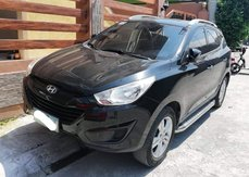 Black Hyundai Tucson 2010 for sale in Metro Manila