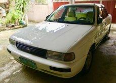 Selling White Nissan Sentra 1995 Manual in Rizal