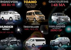[Foton Promo] Foton Pasig offers all forms of promo, from ZERO all-in DP to P200k cash discount!