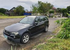 Selling Black Bmw X3 2008 Automatic Diesel