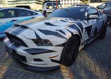 White 2014 Ford Mustang at 20000 km for sale