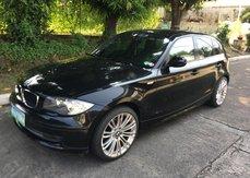 Black 2012 Bmw 118D Automatic Diesel for sale