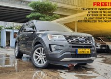 2016 Ford Explorer 4x2 AT 2.3 Ecoboost Gas Automatic