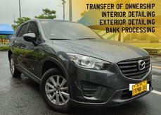 FOR SALE!!! Grey 2016 Mazda CX-5 PRO 2.0 A/T Gas affordable price