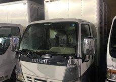 2020 ISUZU ELF ALUMINUM CLOSED VAN 14.5FT NKR WITH SIDE DOOR CHROME FACE 4HL1 ENGINE
