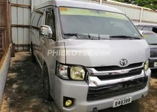 Selling Silver 2018 Toyota Hiace at affordable price