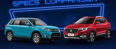 2021 Suzuki Vitara vs MG ZS Comparison: Spec Sheet Battle
