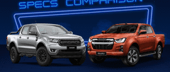 2021 Isuzu D-Max vs Ford Ranger FX4 Max Comparison: Spec Sheet Battle