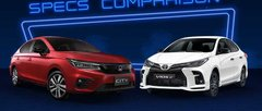 2021 Toyota Vios GR-S vs Honda City RS Comparison: Spec Sheet Battle