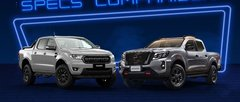 2021 Ford Ranger FX4 Max vs Nissan Navara PRO-4X Spec Sheet Comparison