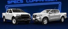 2021 Isuzu D-Max LT 4x2 vs Nissan Navara EL 4x2 Spec Sheet Comparison