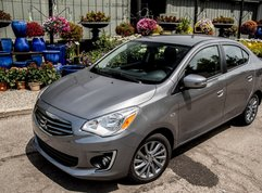 2017 Mitsubishi Mirage G4: All-new sedan version of the Mirage hatchback