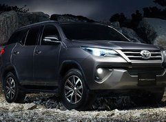 The new Toyota Fortuner with a fresh feeling