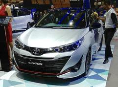 Toyota Vios TRD 2018 prototype showcased at GIIAS 2018
