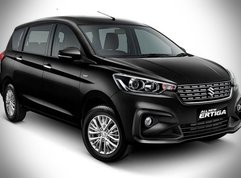 The Suzuki Ertiga 2019 Black Edition: Dark, sleek, and clean inside the cabin