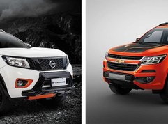 Auto Brawl: Nissan Navara N-Warrior vs. Chevrolet Colorado High Country Storm