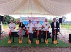 Isuzu Philippines starts their work on a new dealership in Subic