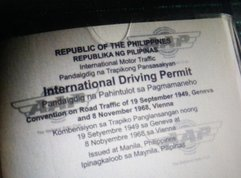 Philippines International Driving Permit (PIDP): Fee and so on