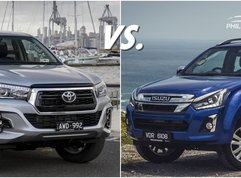 [Pickup shootout] Isuzu D Max vs Hilux: Spec comparison of the big & tough!