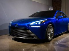 Toyota is developing hydrogen-powered cars