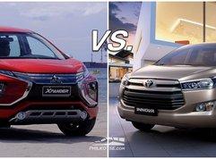 Mitsubishi Xpander vs Toyota Innova: The rookie vs the seasoned veteran