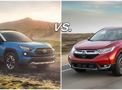 Honda CR-V vs Toyota RAV4: Two handsome old-timers battle it out!