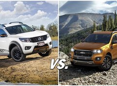 Nissan Navara vs Ford Ranger: High tech vs more tech, which one is better?