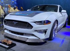 Mustang EV hits SEMA and it has a really special something