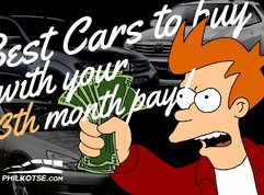 [Philkotse collection] 4 best cars to buy with your 13th month pay!