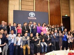 Toyota Philippines posts highest-ever market share in 2019 and other related news