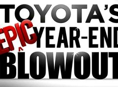 Drive home a Vios for free with Toyota's EPIC year-end blowout!