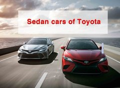 All sedan cars of Toyota Philippines with price list & brief review