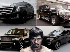 [FOR FUN] Let's take a look at the Luxurious Manny Pacquiao's Car collection