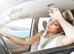 Why does driving make you tired and/or sleepy?
