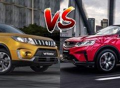 2020 Geely Coolray vs Suzuki Vitara Comparison: Spec Sheet Battle